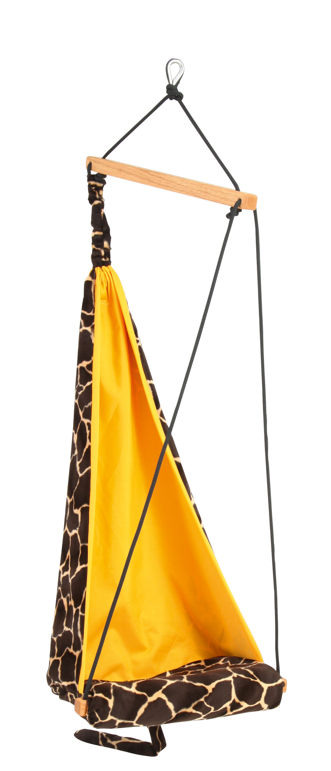 'Hang Mini' Giraffe Kinderhangstoel - Geel - Amazonas