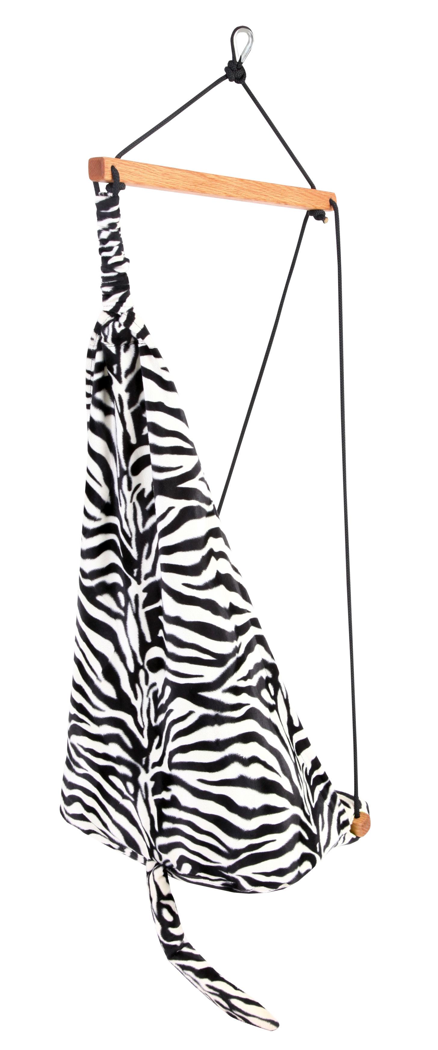 'Hang Mini' Zebra Kinderhangstoel - Groen - Amazonas