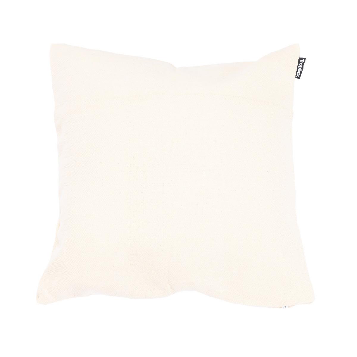 'Comfort' White Kussentje - Wit - Ecru - Tropilex �
