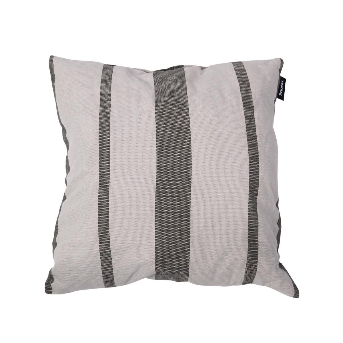 'Stripes' Silver Kussentje - Veelkleurig - Tropilex �