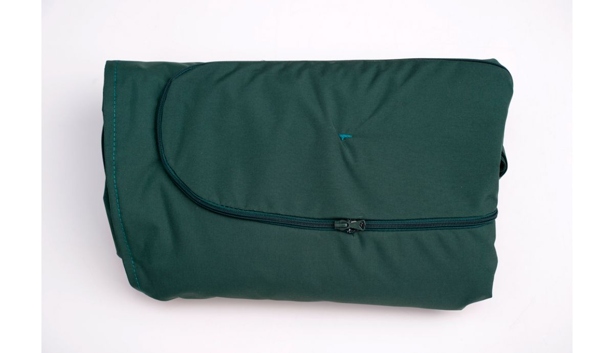 'Globo Royal' Green Weatherproof Kussensloop