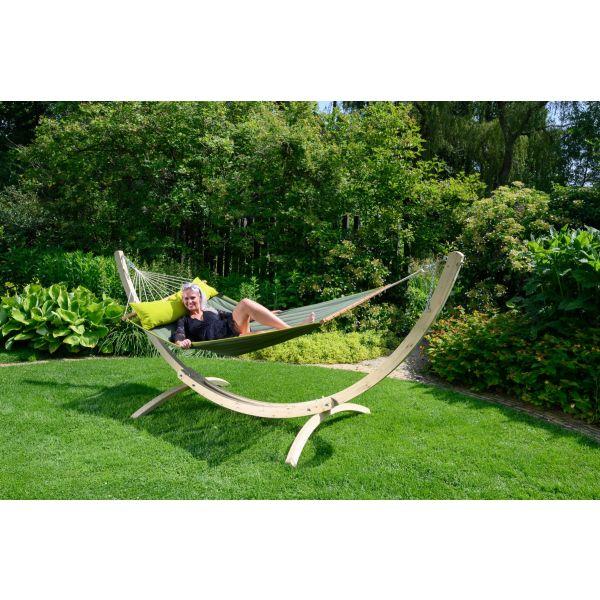 'American' Green Tweepersoons Hangmat