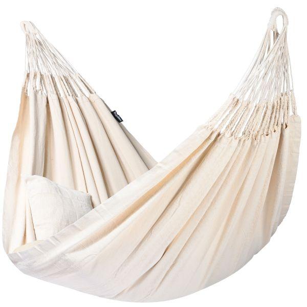 'Luxe' White XXL Hangmat