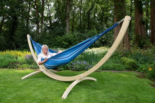 Wood & Chill Calm Tweepersoons Hangmatset