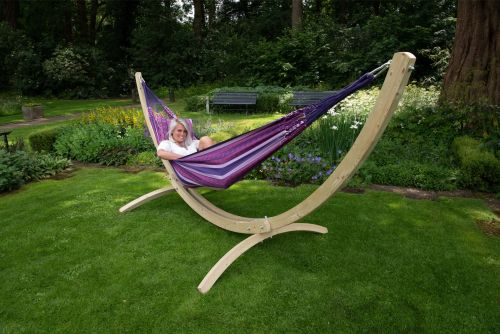 Wood & Chill Love Tweepersoons Hangmatset