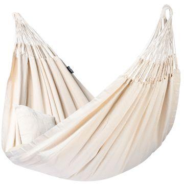 Luxe White XXL Hangmat