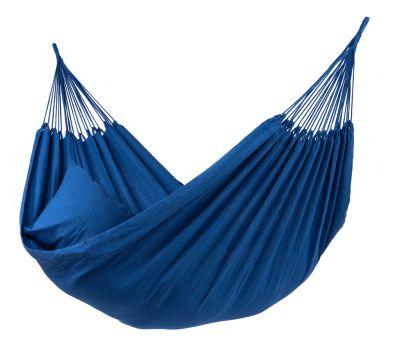 Plain Blue Eénpersoons Hangmat