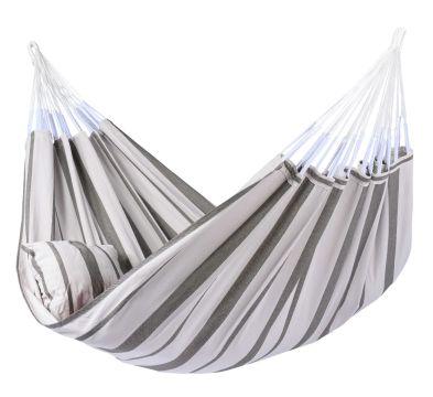 Stripes Silver XXL Hangmat