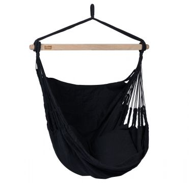 Comfort Black Hangstoel