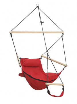 Swinger Red Hangstoel