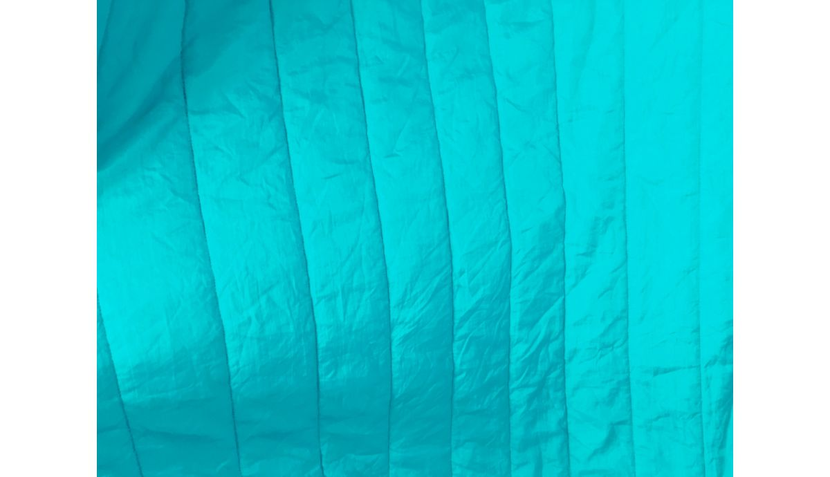 'Padded' Turquoise Tweepersoons Reishangmat