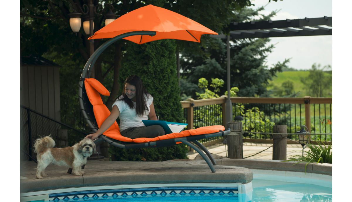 'Dream Lounger' Orange Original