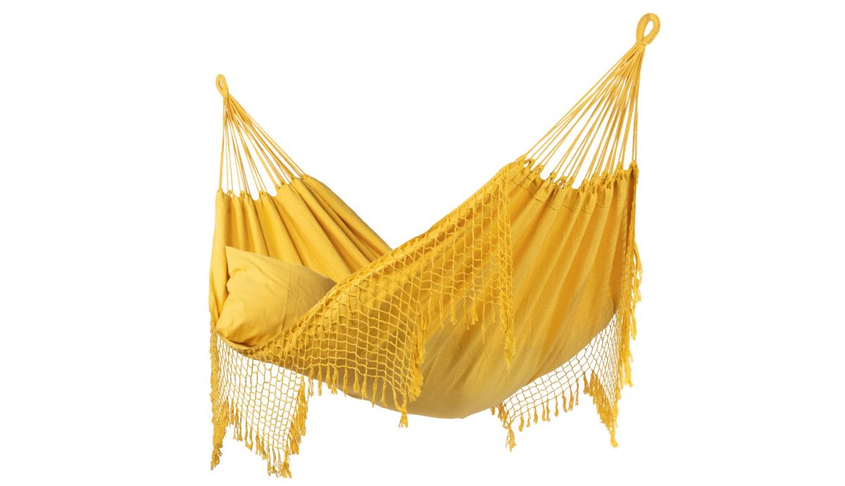 'Sublime' Yellow Tweepersoons Hangmat