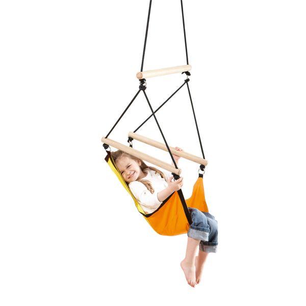 'Swinger' Yellow Kinderhangstoel