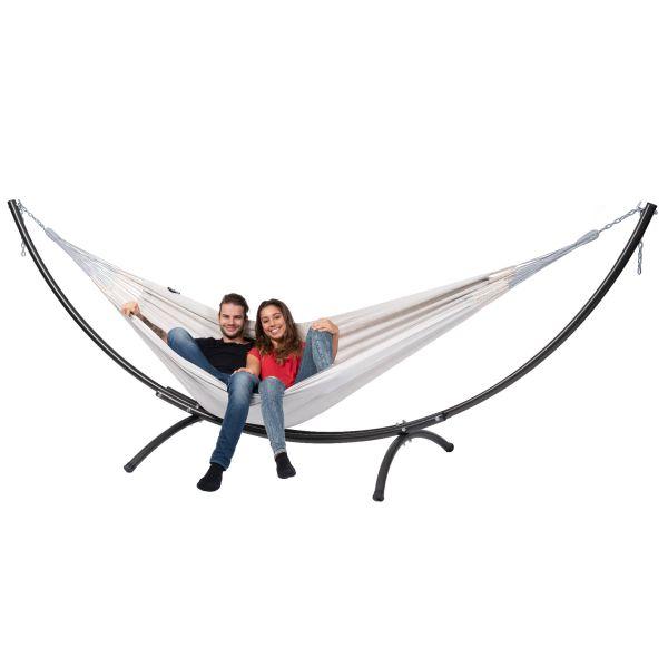 'Arc & Comfort' Pearl Tweepersoons Hangmatset