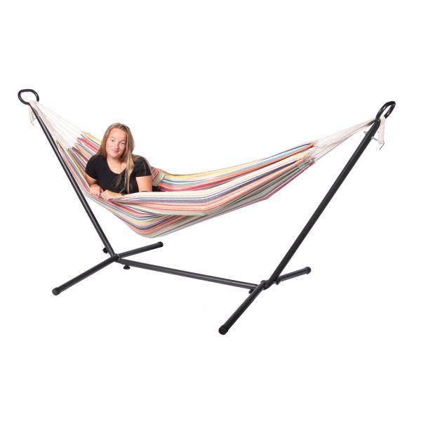 'Minorca' Single Eénpersoons Hangmat