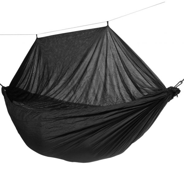 'Mosquito' Black Eénpersoons Reishangmat