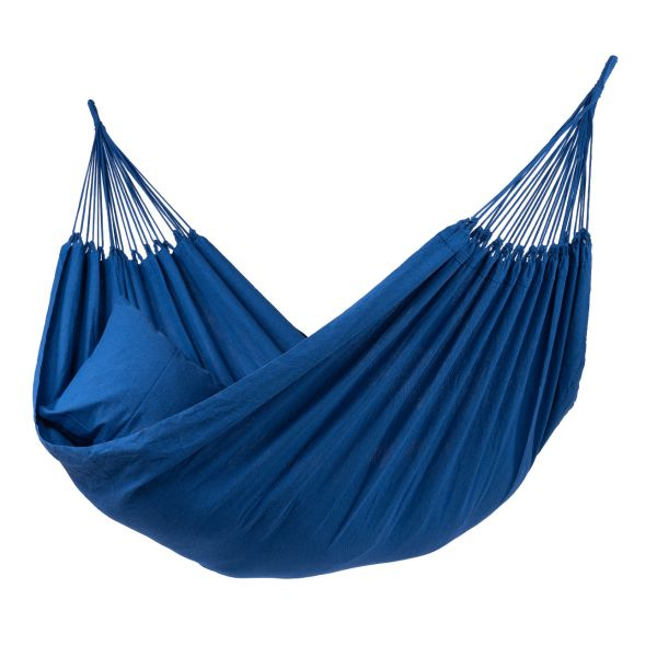 'Plain' Blue Eénpersoons Hangmat