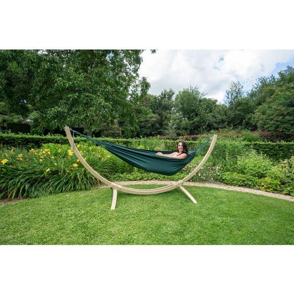 'Plain' Green Eénpersoons Hangmat