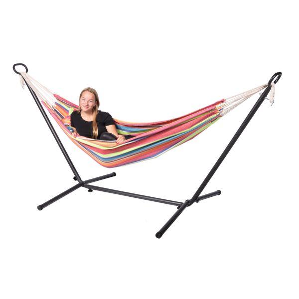 'Tura' Single Eénpersoons Hangmat