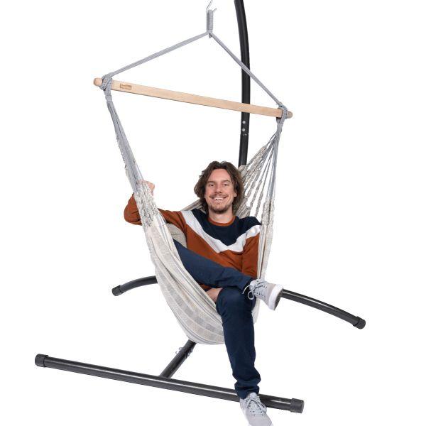'Comfort' Smoke Hangstoel