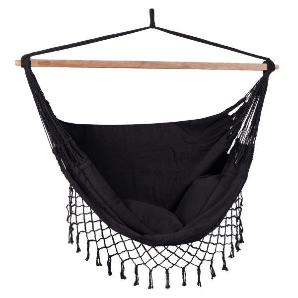 'DeLuxe' Black Hangstoel