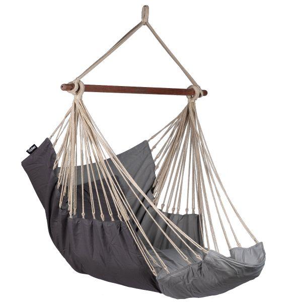 'Sereno' Grey Hangstoel
