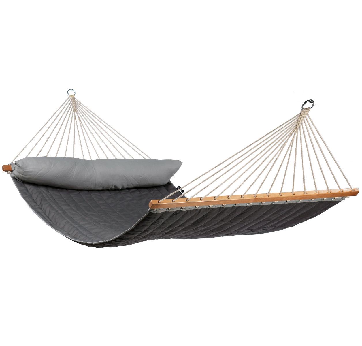 'American' Grey Tweepersoons Hangmat - Grijs - Tropilex �