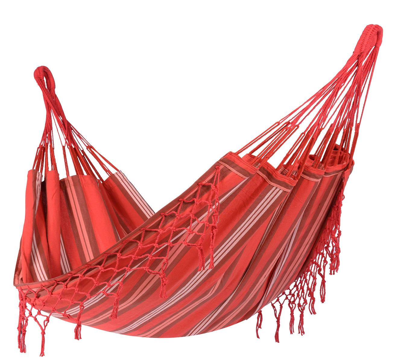 'Bonaire' Fire E�npersoons Hangmat - Veelkleurig - Tropilex �