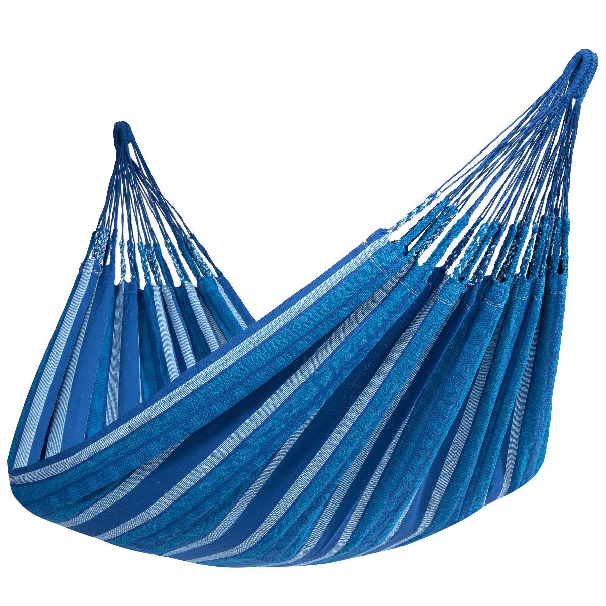 'Chill' Calm Tweepersoons Hangmat - Blauw - Tropilex �