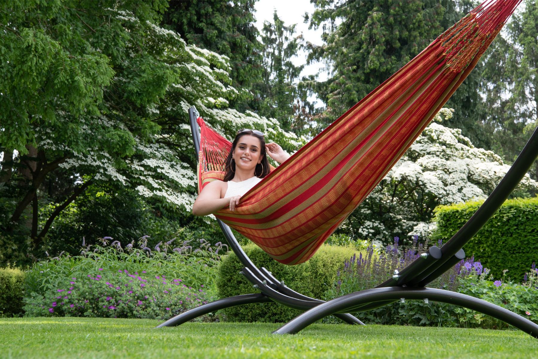 'Chill' Happy Tweepersoons Hangmat - Rood - Tropilex �