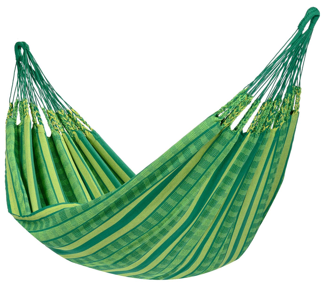 'Chill' Joyful Tweepersoons Hangmat - Groen - Tropilex �