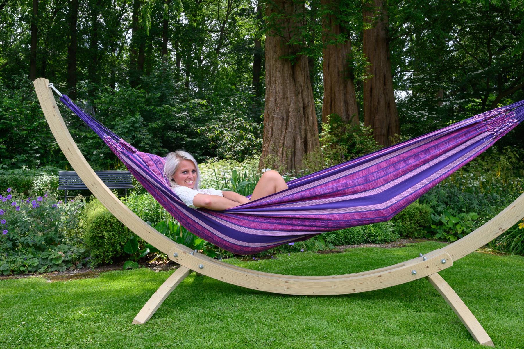 'Chill' Love Tweepersoons Hangmat - Paars - Tropilex �