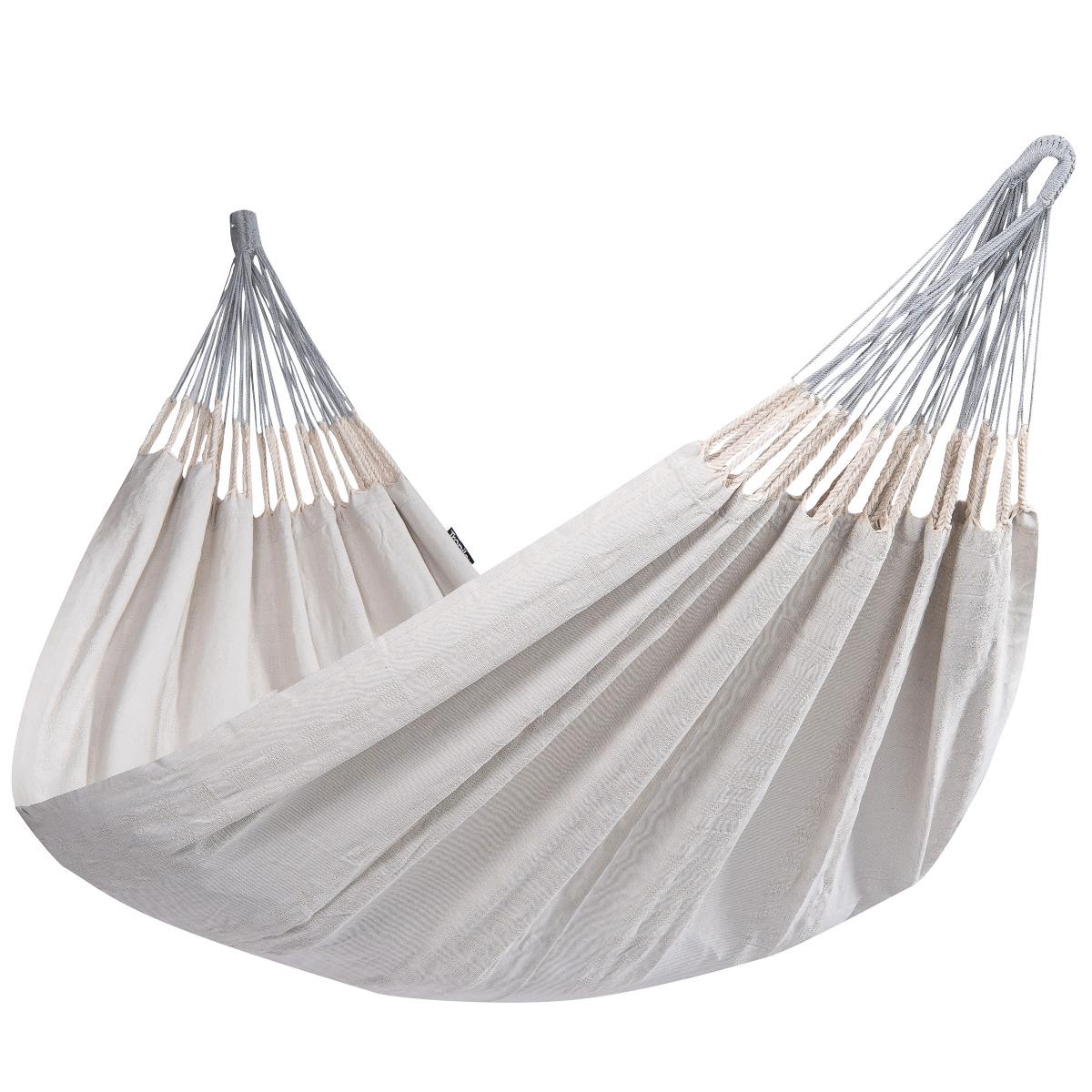 'Comfort' Pearl Tweepersoons Hangmat - Wit - Ecru - Tropilex �