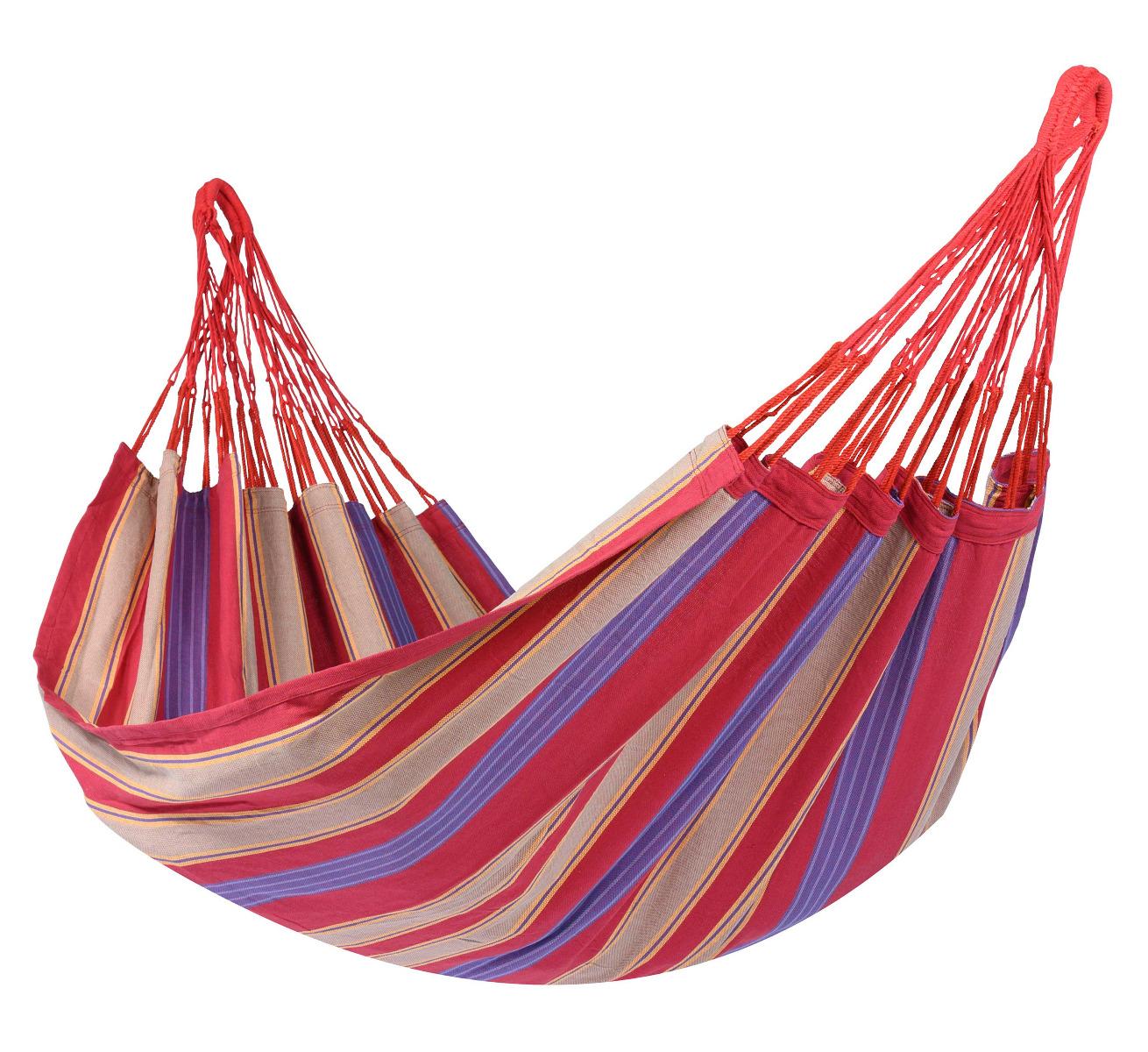 'Cuba' Cherry E�npersoons Hangmat - Veelkleurig - Tropilex �