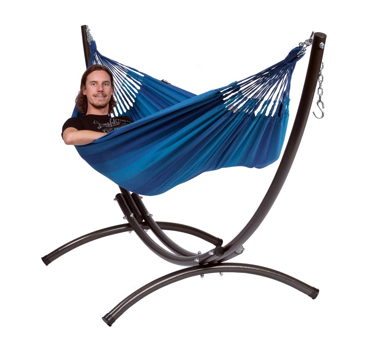 'Arc & Dream' Blue E�npersoons Hangmatset - Blauw - Tropilex �
