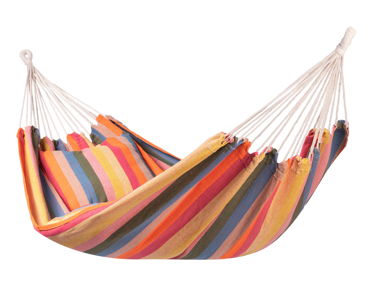 'Gomera' Single E�npersoons Hangmat - Wit - Ecru - 123 Hammock