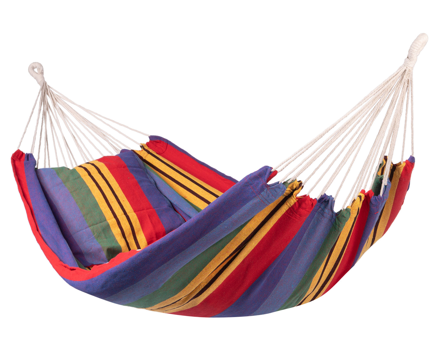 'Ibiza' Single E�npersoons Hangmat - Veelkleurig - 123 Hammock