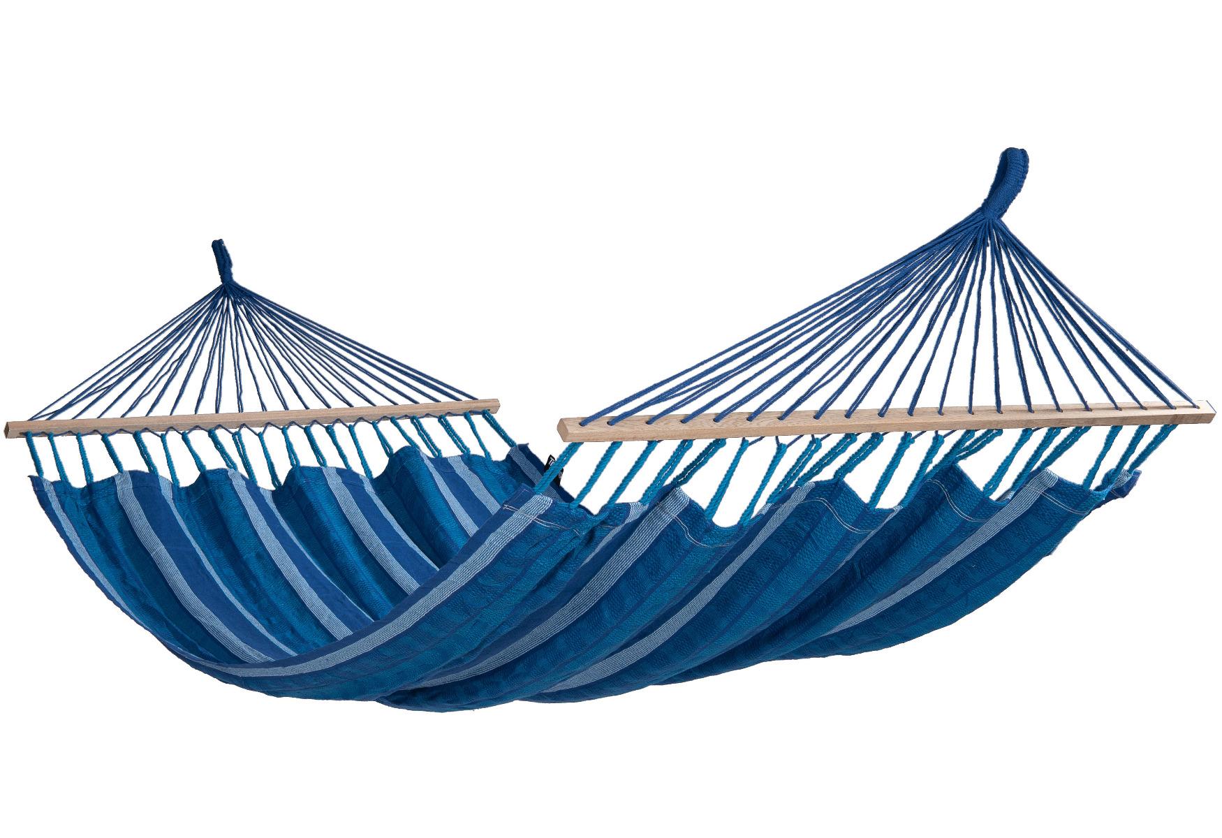 'Lazy' Calm Tweepersoons Hangmat - Blauw - Tropilex �