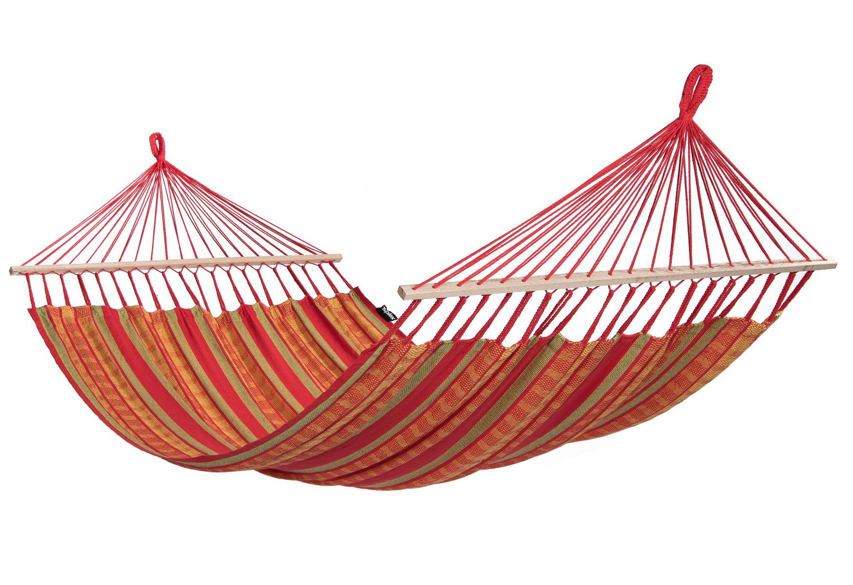 'Lazy' Happy Tweepersoons Hangmat - Rood - Tropilex �