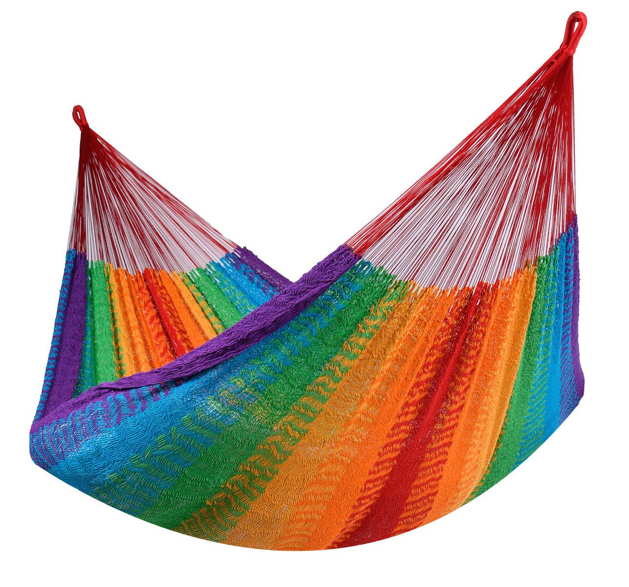 'Mexico' Rainbow Tweepersoons Hangmat - Veelkleurig - Tropilex �