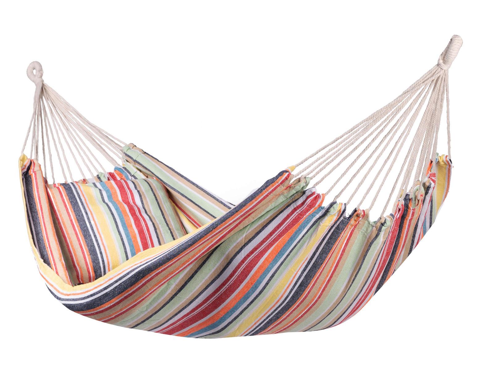 'Minorca' Single E�npersoons Hangmat - Veelkleurig - 123 Hammock