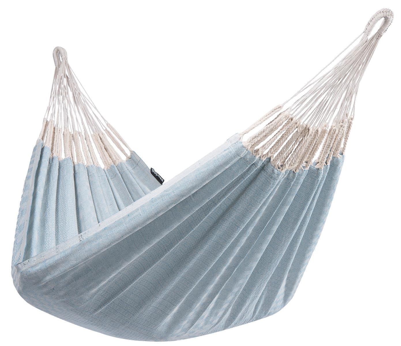 'Natural' Blue E�npersoons Hangmat - Blauw - Tropilex �