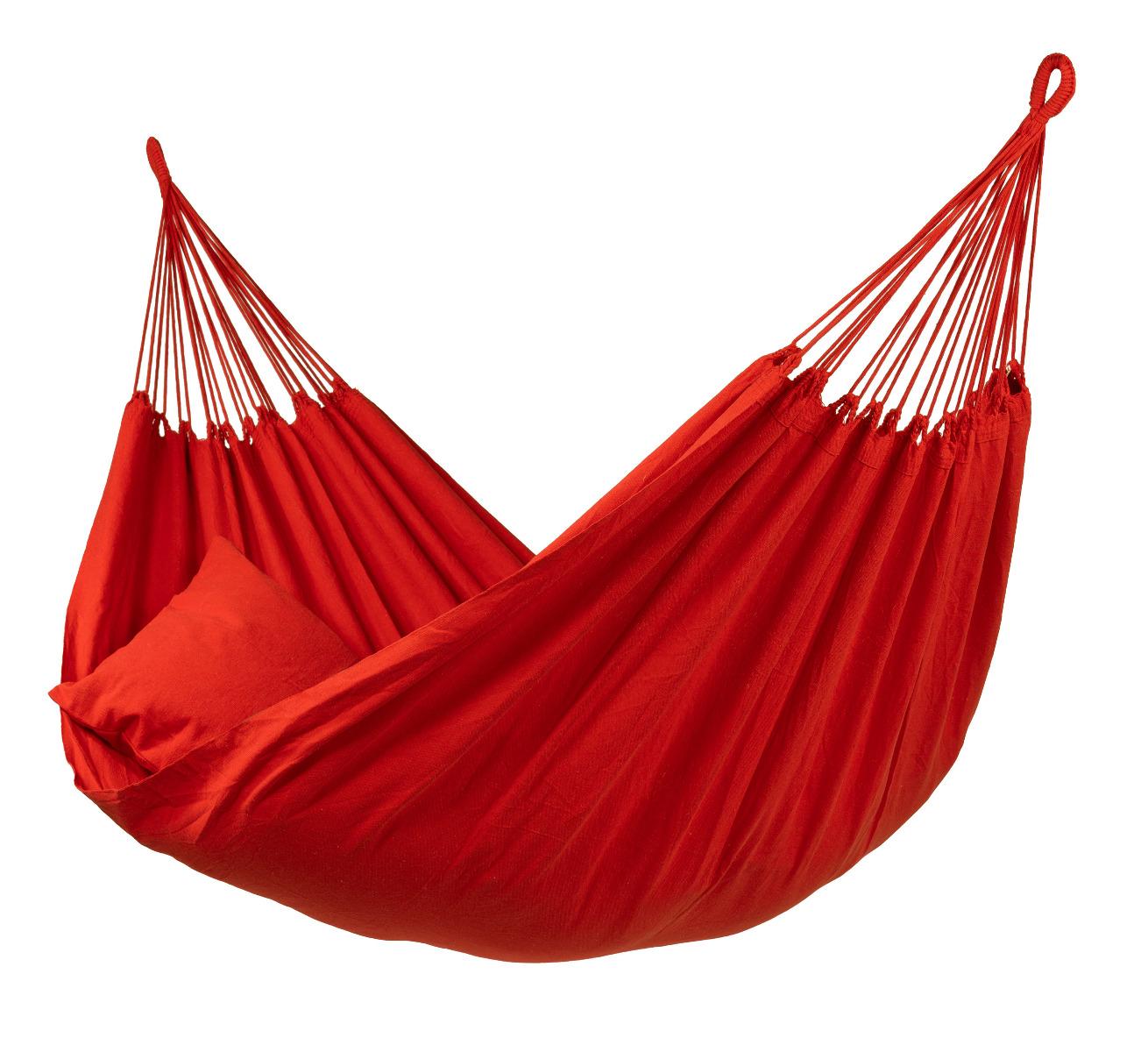 'Organic' Red Tweepersoons Hangmat - Rood - Tropilex �