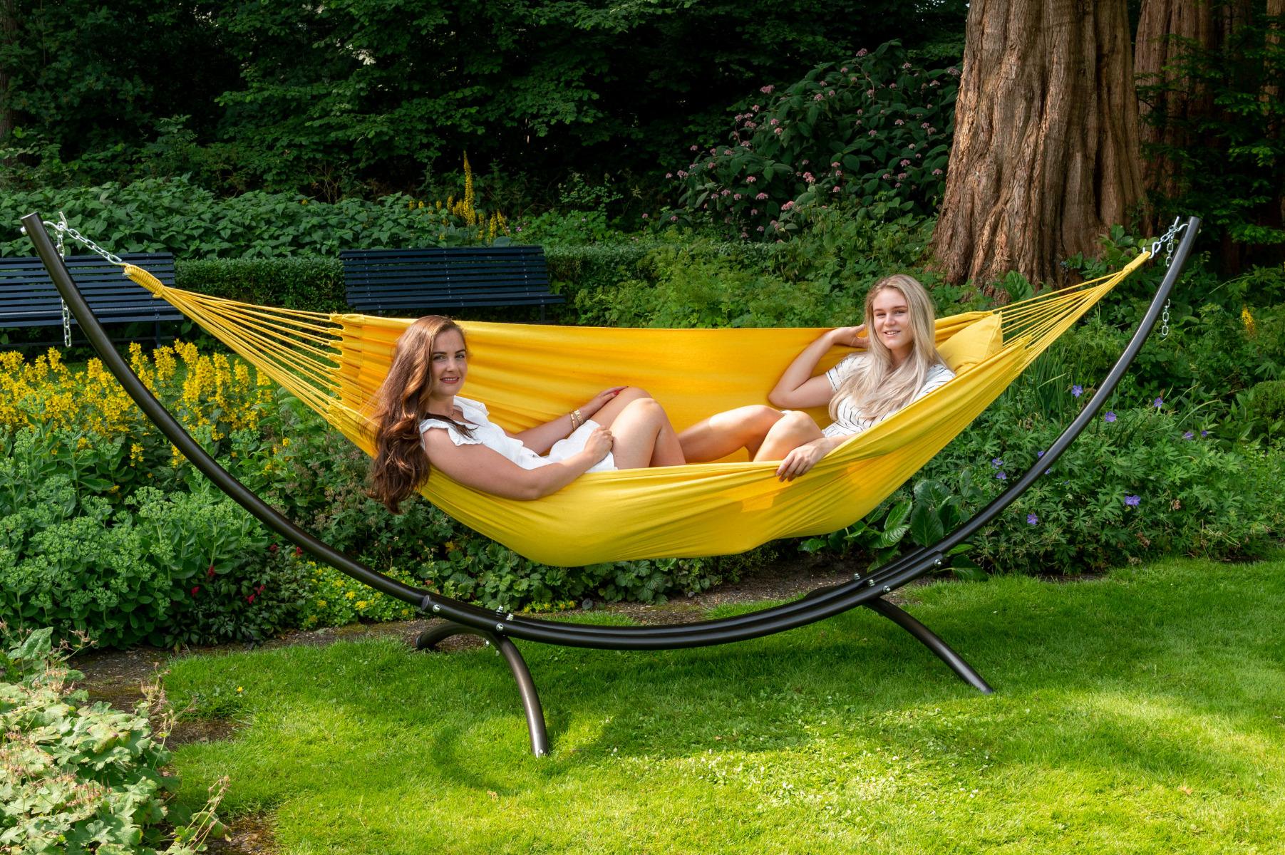 'Organic' Yellow Tweepersoons Hangmat - Geel - Tropilex ®