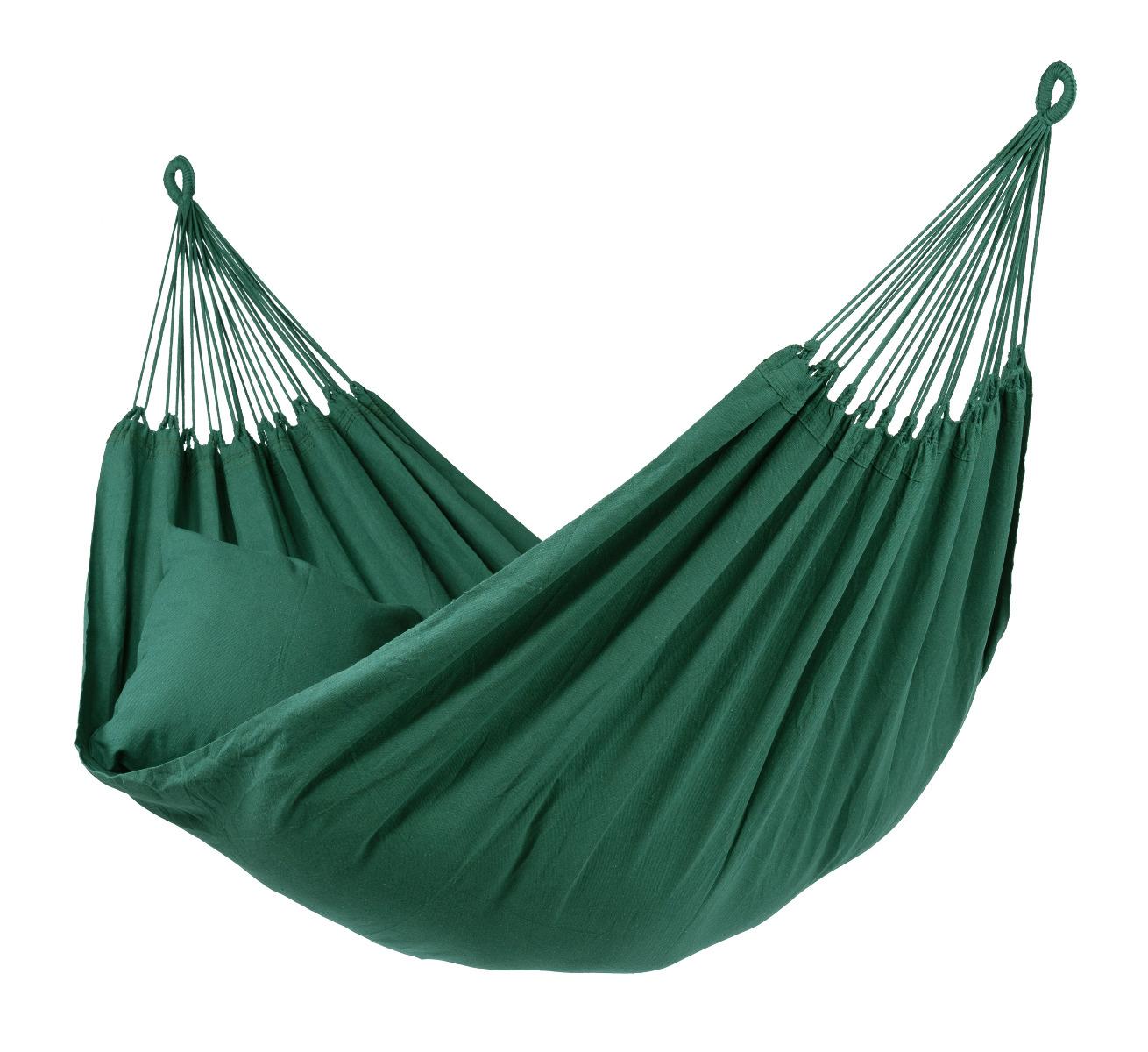 'Plain' Green E�npersoons Hangmat - Groen - Tropilex �