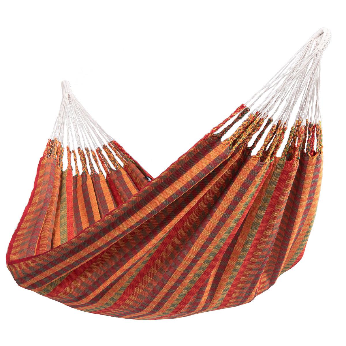 'Premium' Melon Tweepersoons Hangmat - Rood - Tropilex �