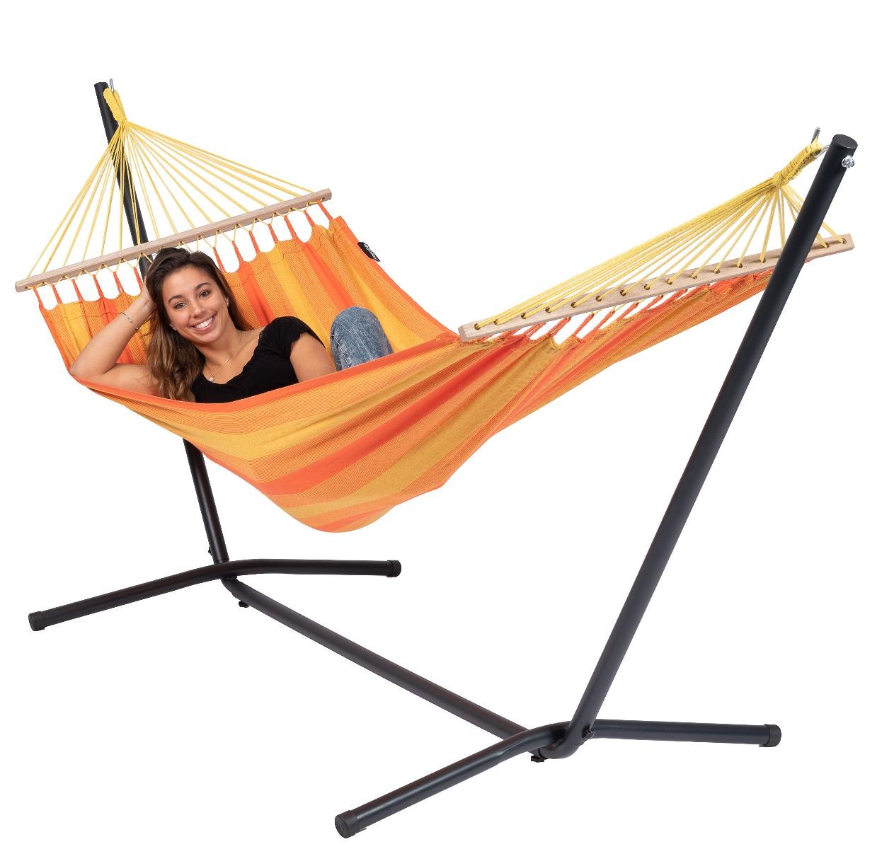 'Easy & Relax' Orange E�npersoons Hangmatset - Oranje - Tropilex �