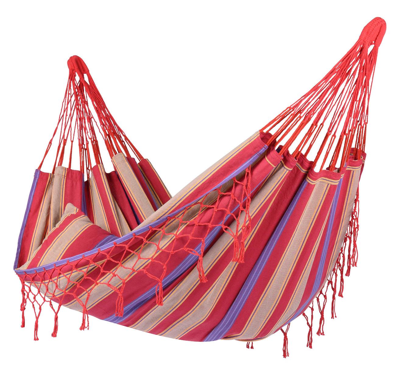 'Saba' Cherry E�npersoons Hangmat - Veelkleurig - Tropilex �