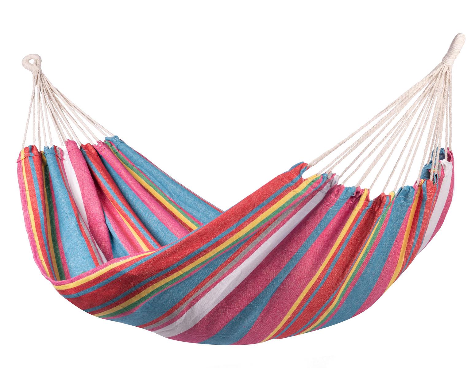 'Salvora' Single E�npersoons Hangmat - Veelkleurig - 123 Hammock